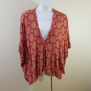 Forever 21 size 0X plus size (14W-16W) kimono